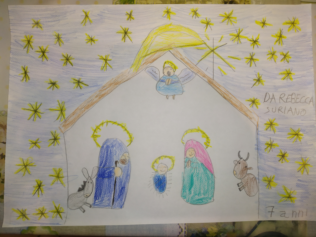 1. Rebecca Suriano 7anni